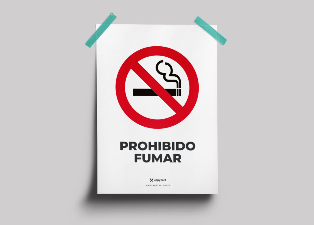Cartel Prohimido Fumar descarga